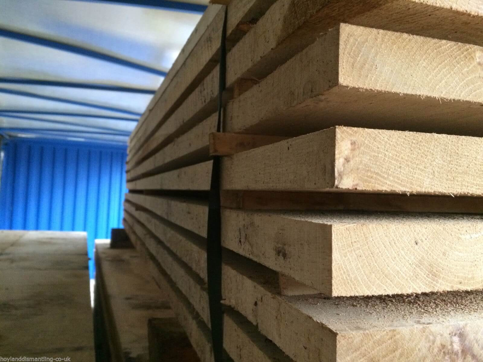 Image for Air dried oak boards