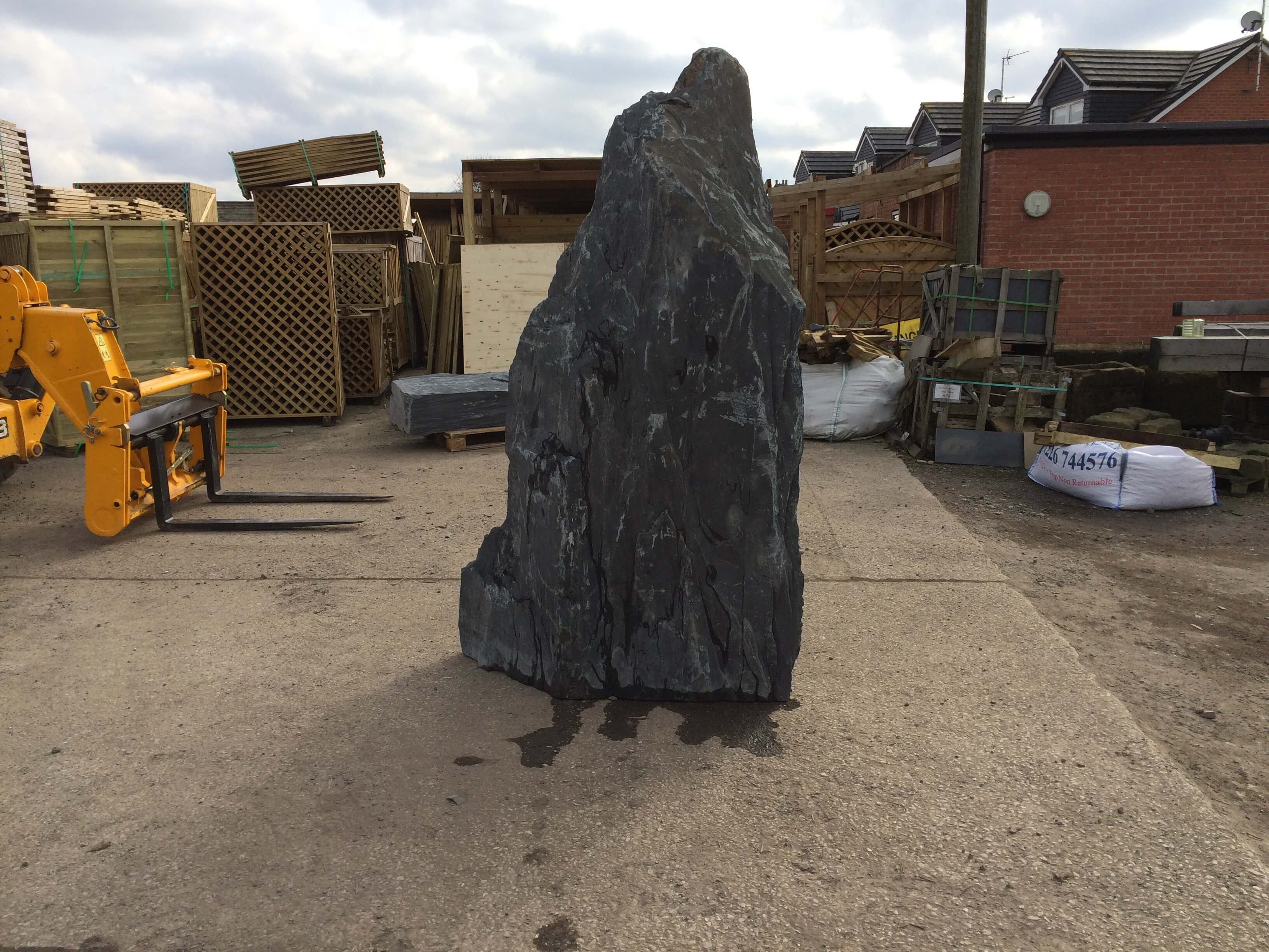 Fourth image for 2.35m Slate monolith (M2)