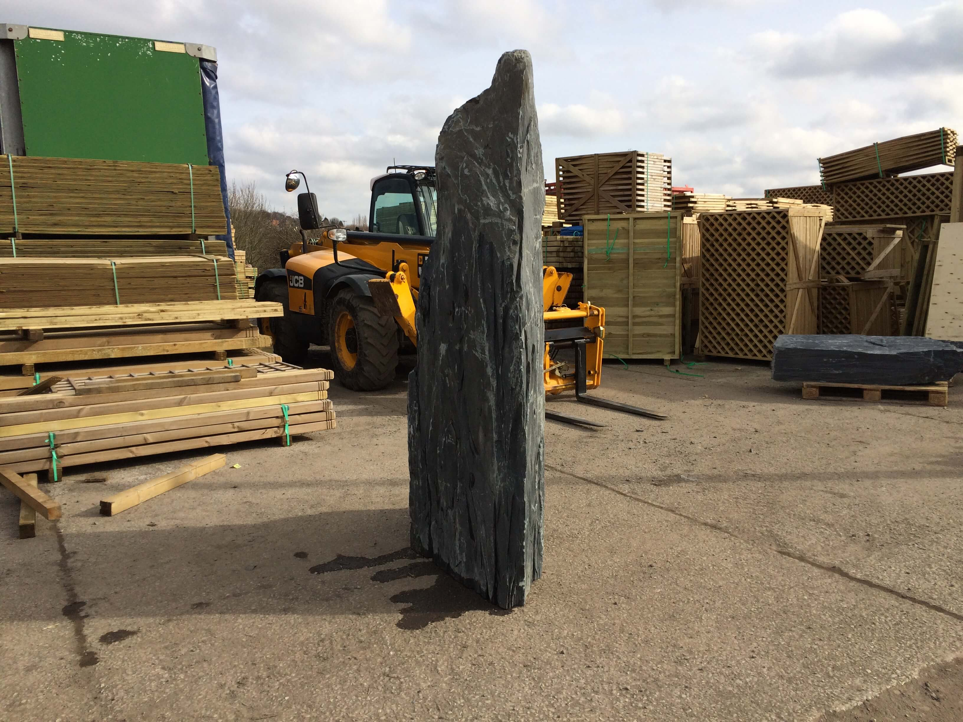 Fifth image for 2.35m Slate monolith (M2)