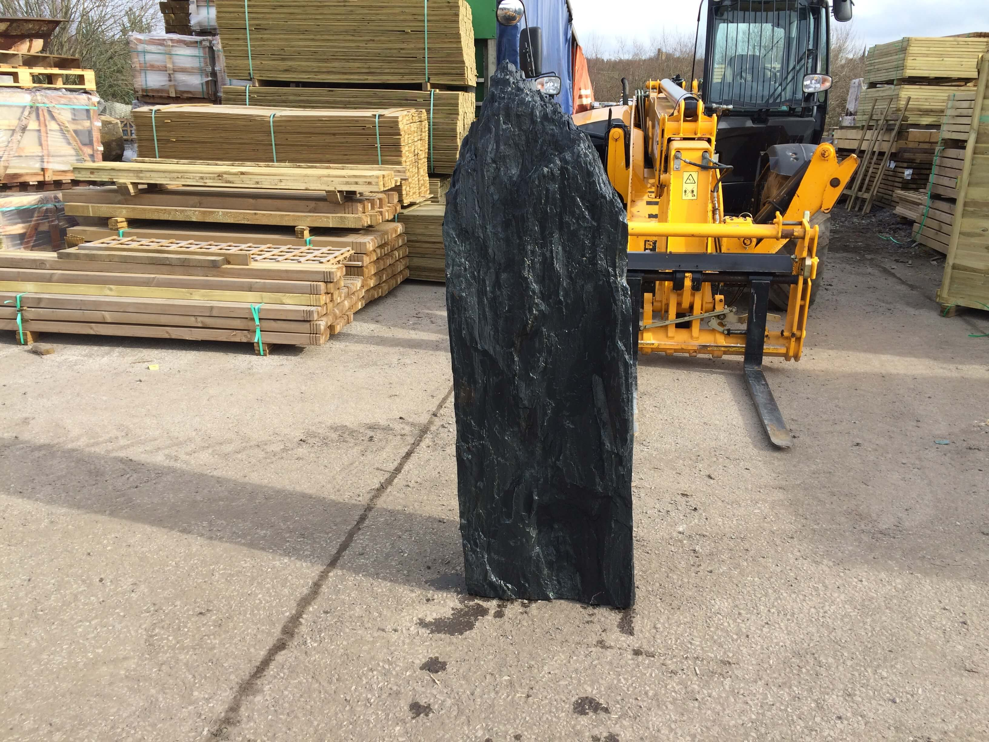 Fourth image for 1.65m Slate monolith (M5)