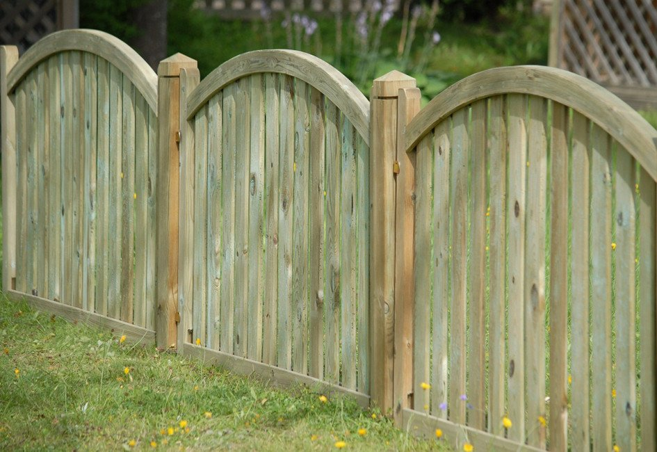 Image for Genoa fence panel