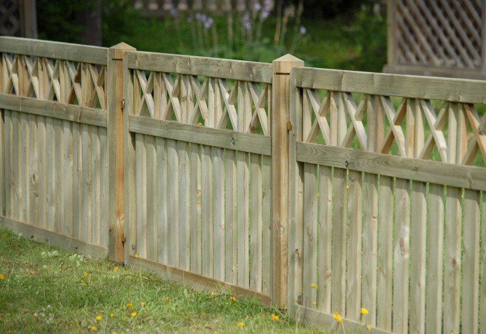 Image for Naples fence panel