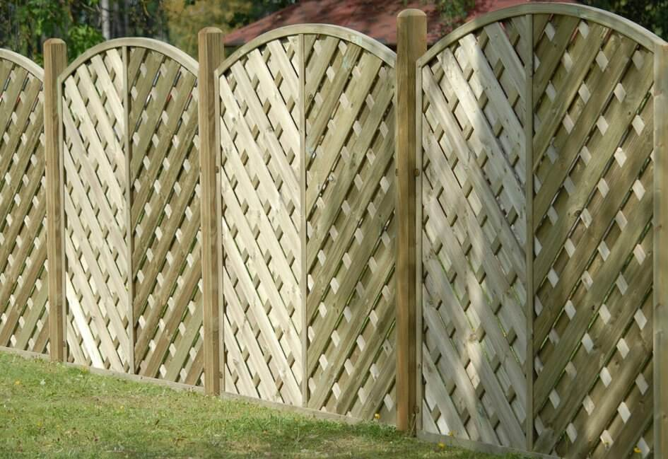 Image for Madrid fence panel