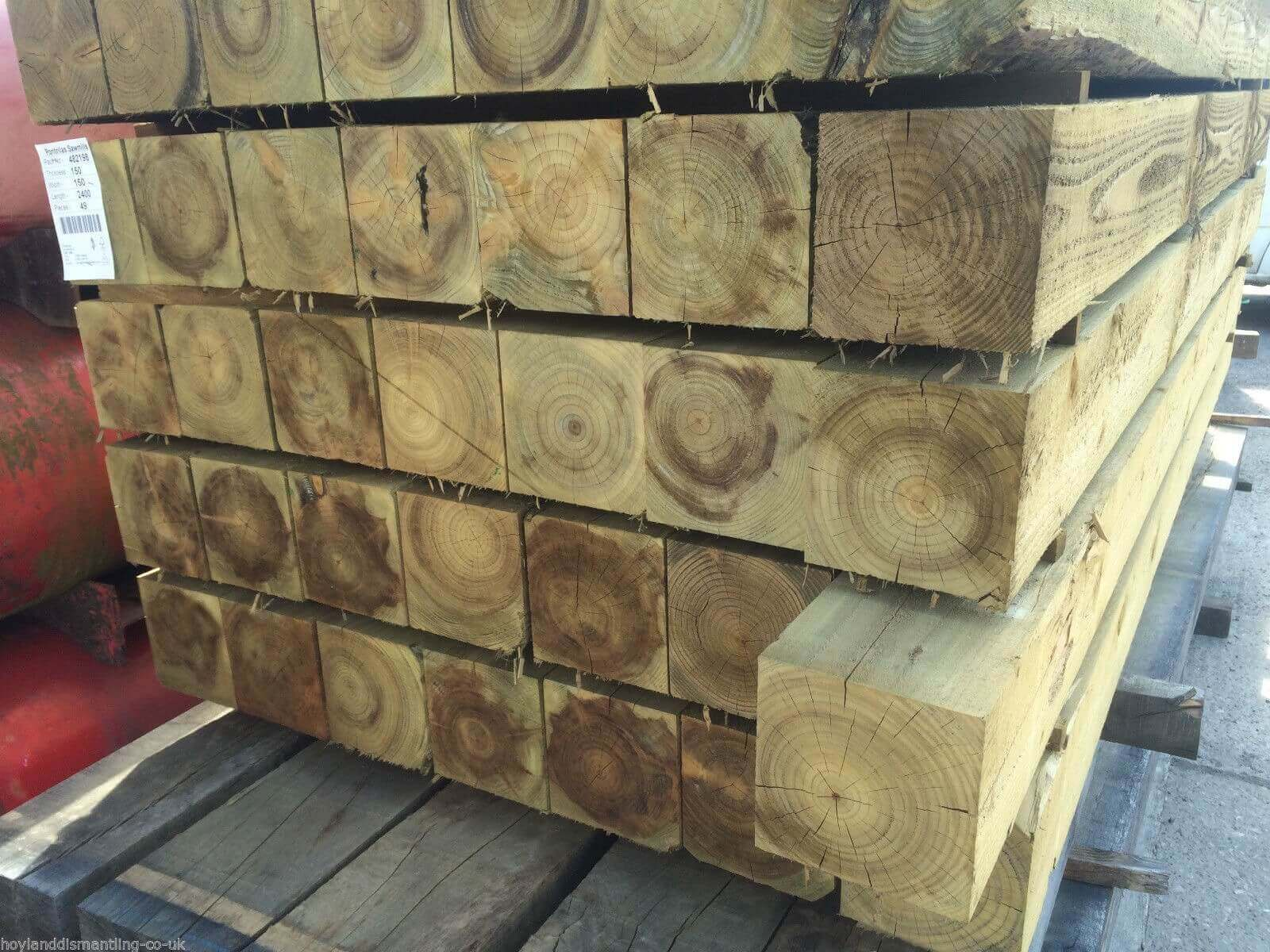 Image for Treated timber post 150x150