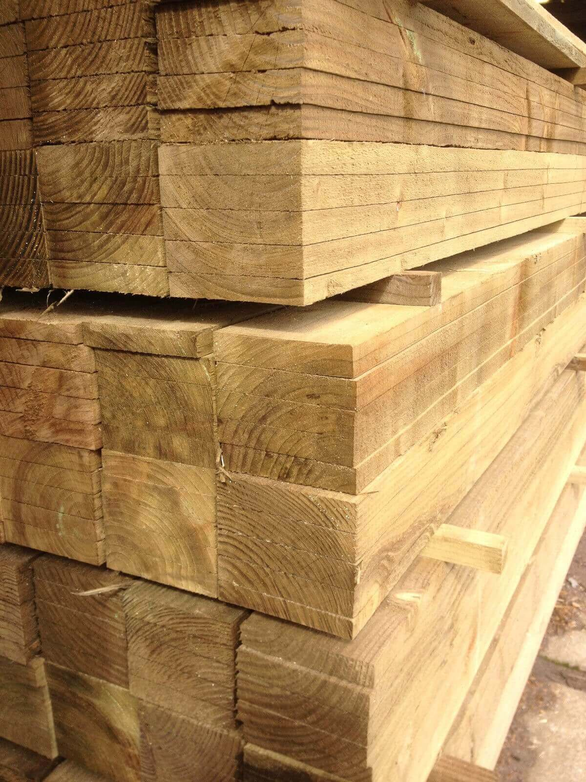 Image for Treated timber board 100x22