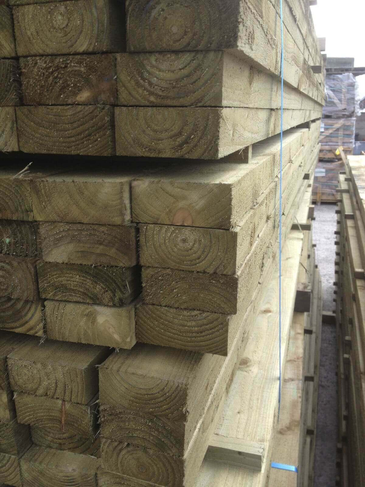 Image for Treated timber Joist 100x47