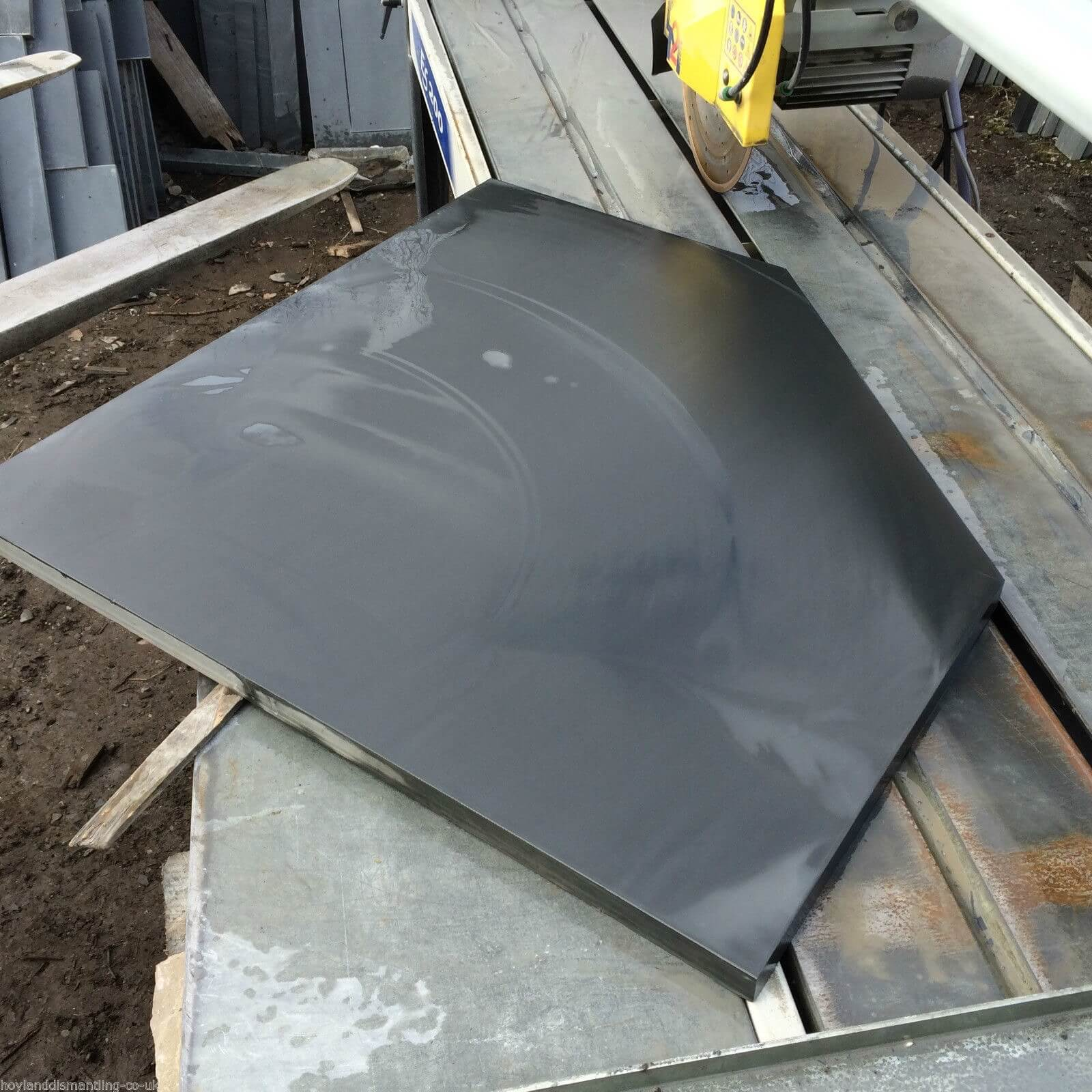 Fifth image for Bespoke Honed Slate Hearth Stones