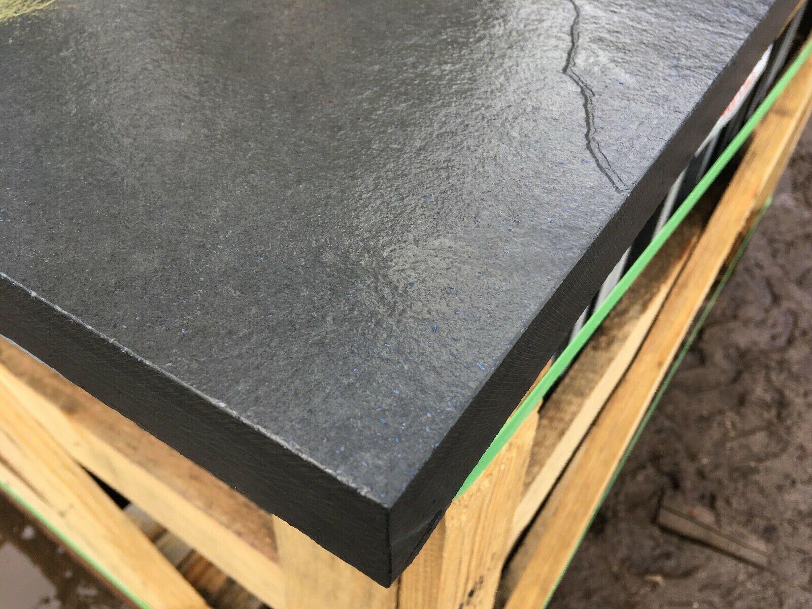 Image for Carbon Black Brazilian Slate Slabs