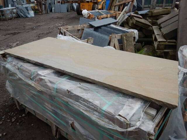 first image for Natural Sandstone Hearth 30mm Thickness
