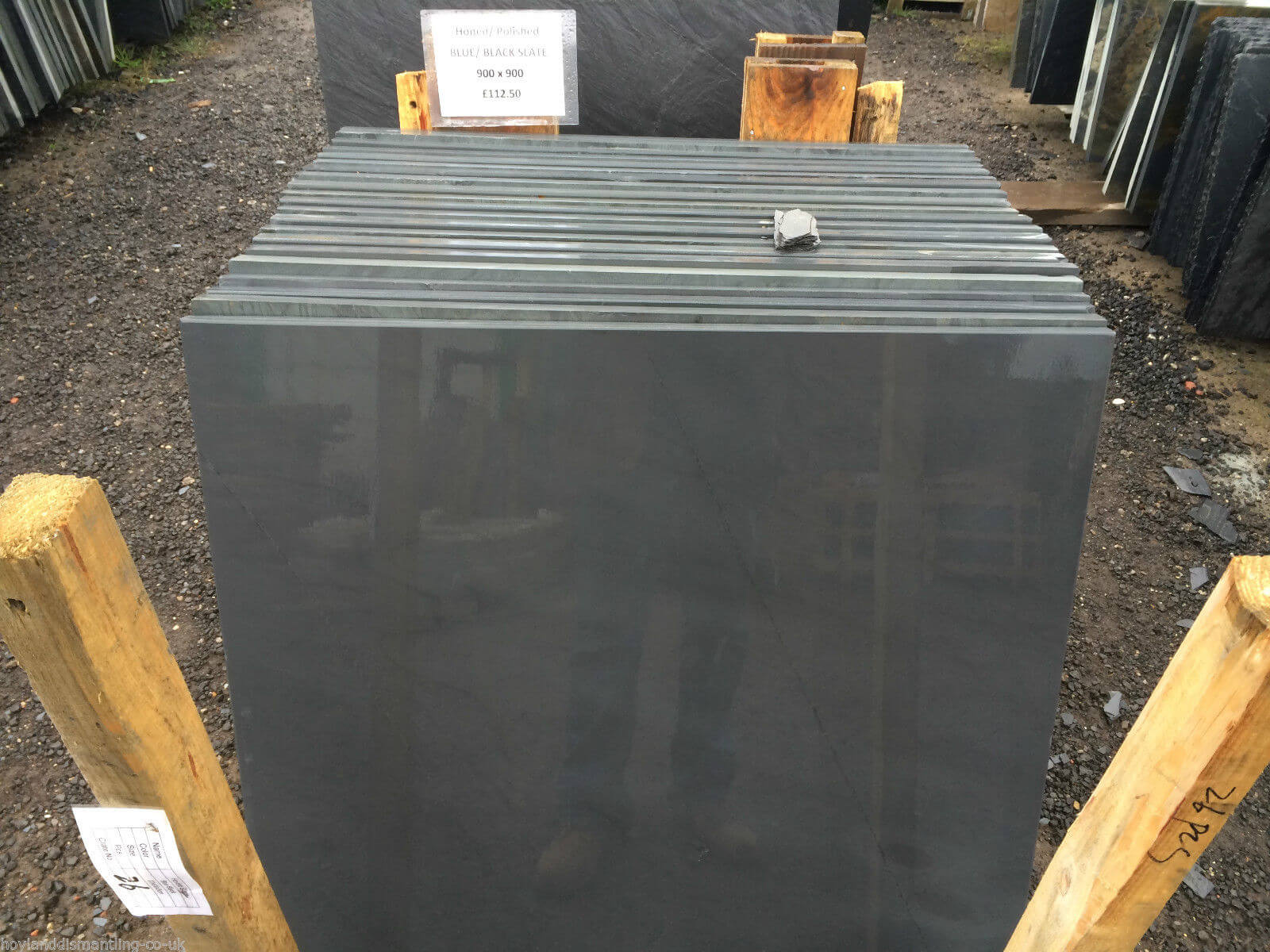 Fourth image for Honed slate Slabs