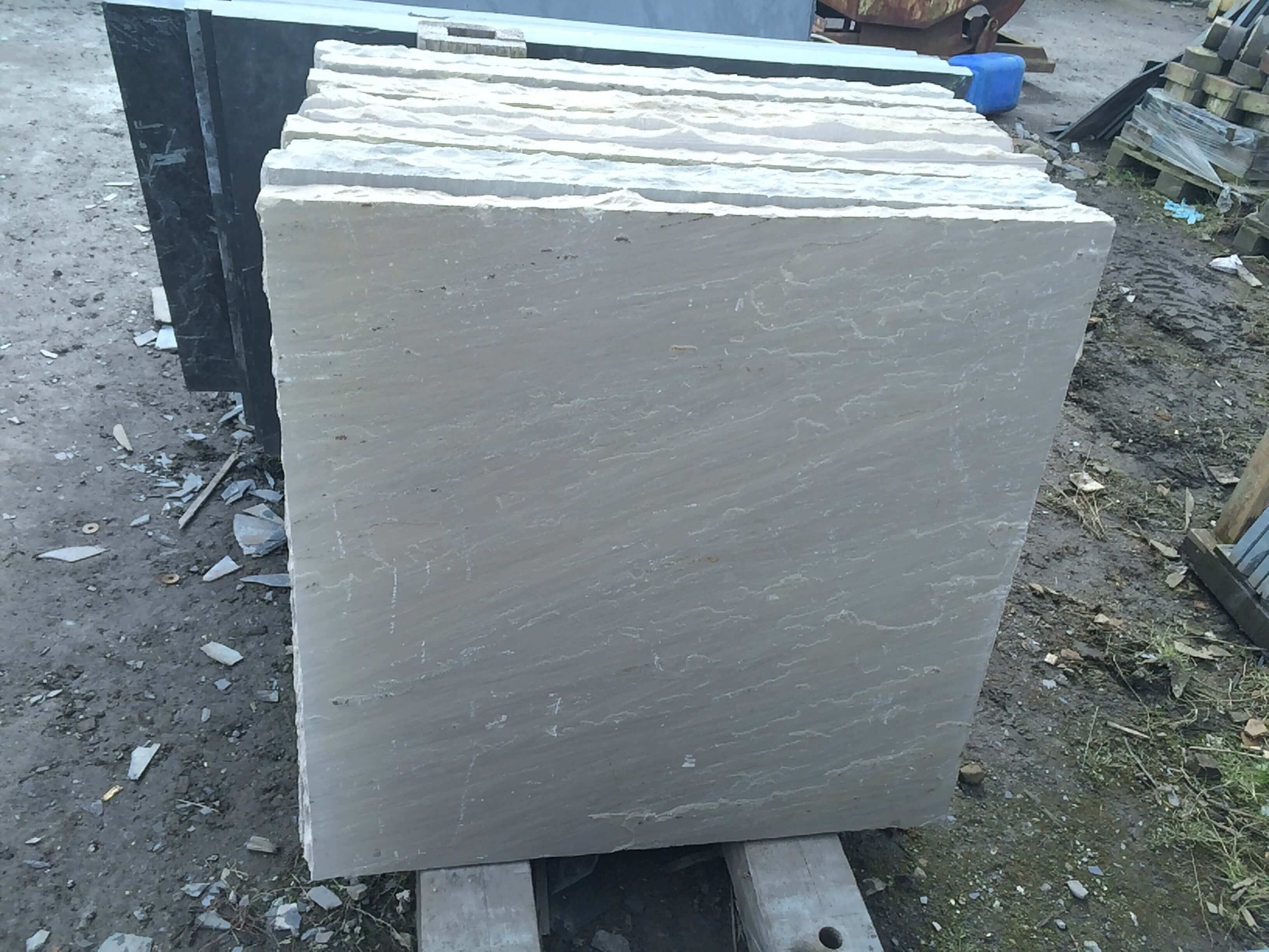 Fifth image for Natural Sandstone Hearth 50mm Thickness