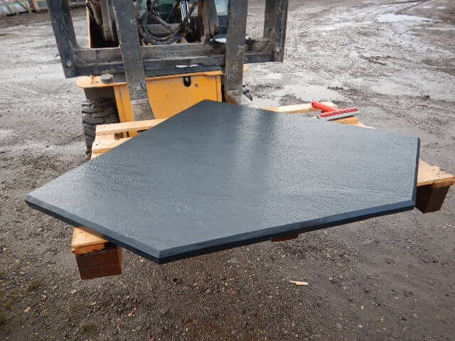 Second image for Bespoke Riven Slate Hearth