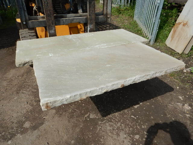 first image for Natural Sandstone Hearth 50mm Thickness