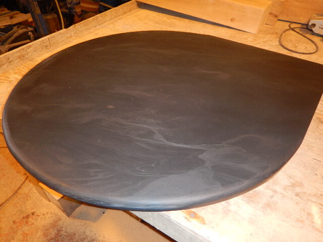 Image for Slate teardrop corner hearth