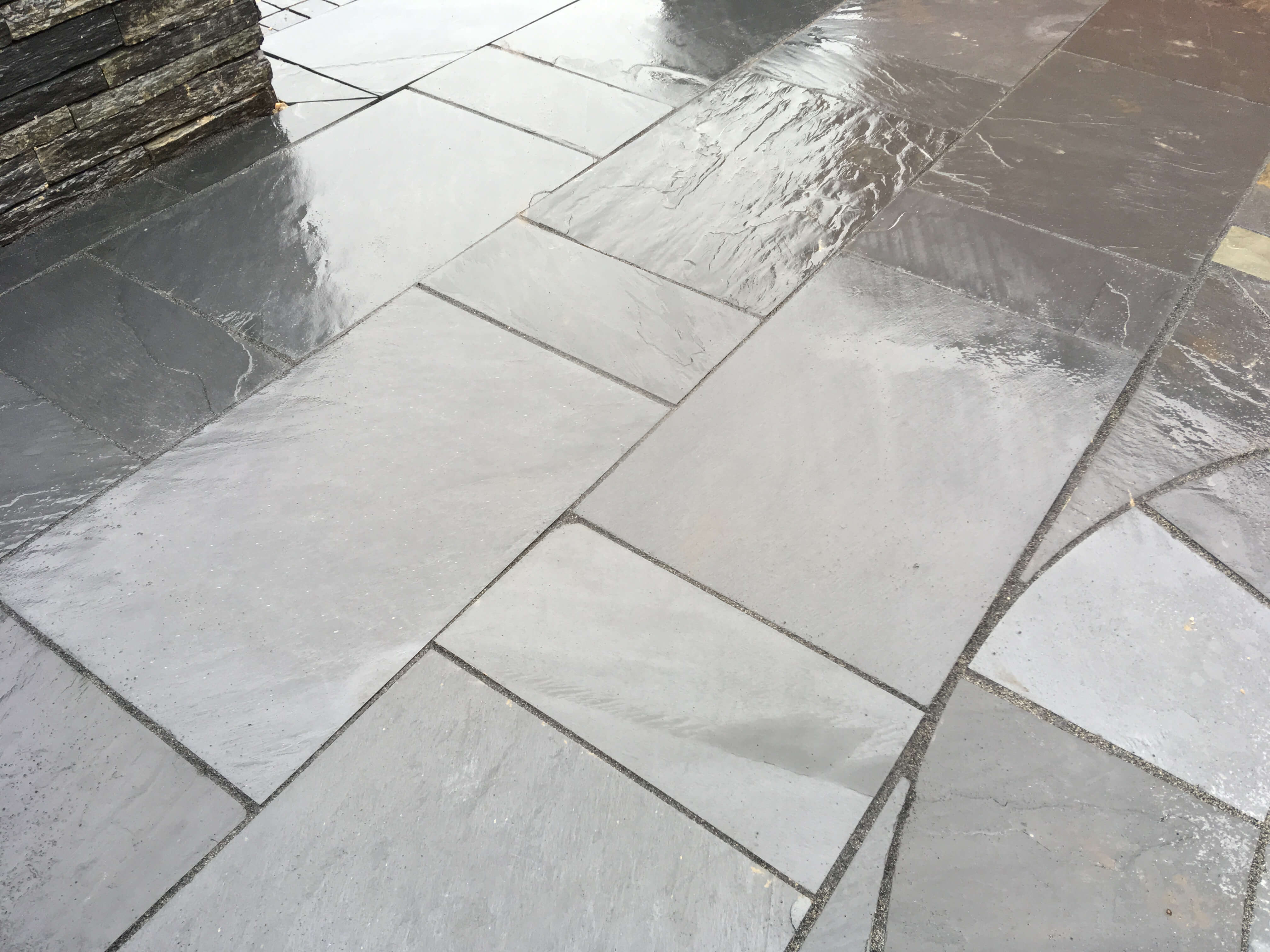 Second image for Blue / Black slate paving