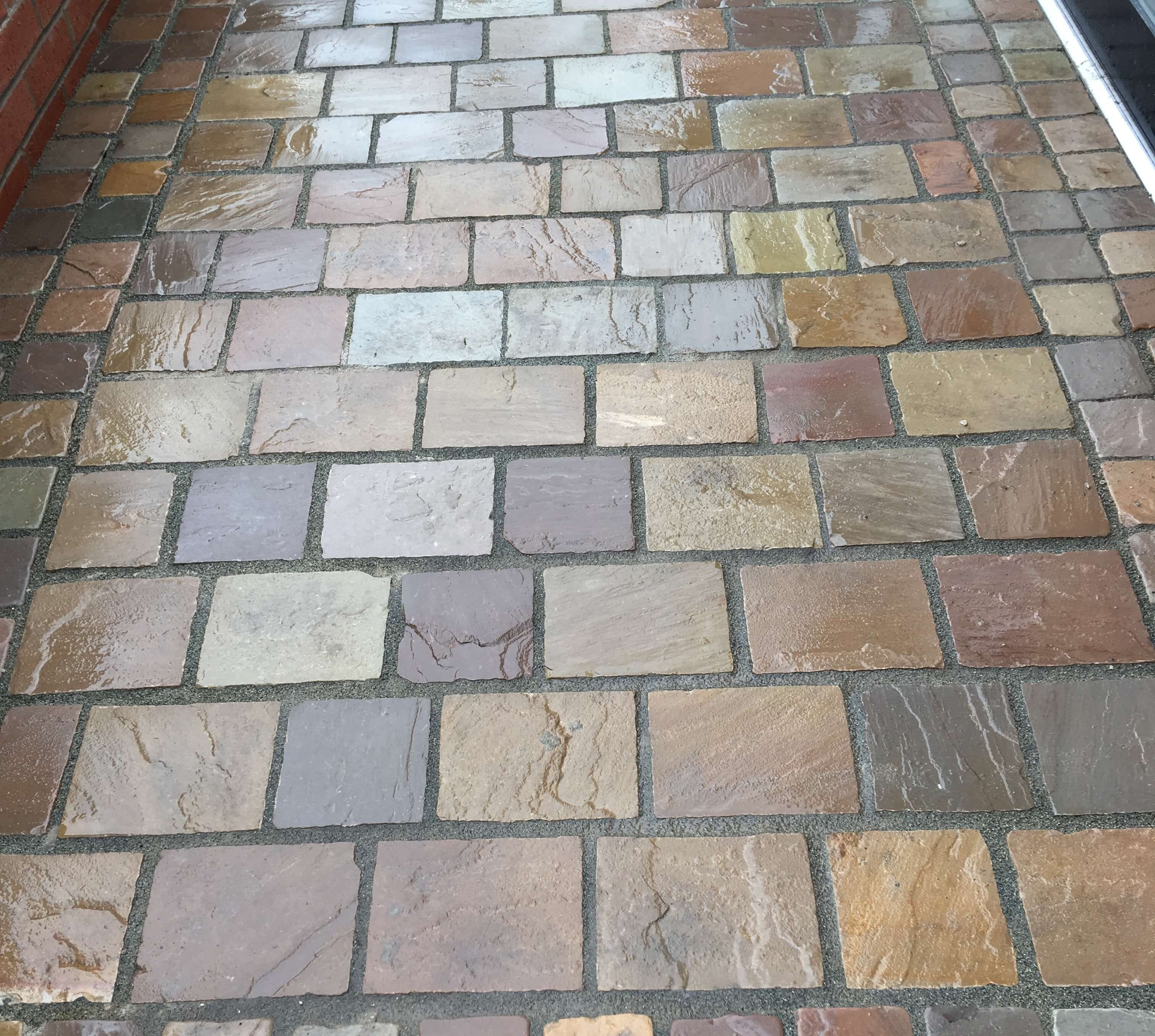 Image for Natural Stone Cobble Sett