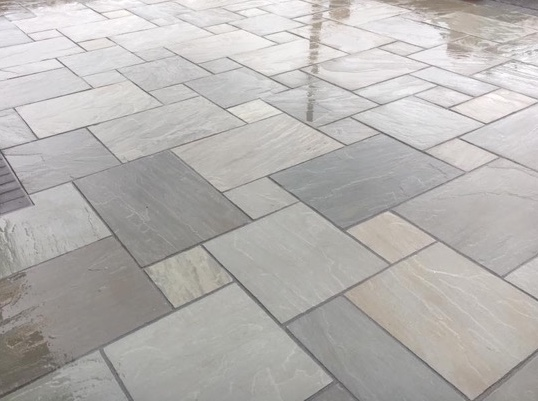 Kandla Grey Calibrated Stone Paving Products Hoyland