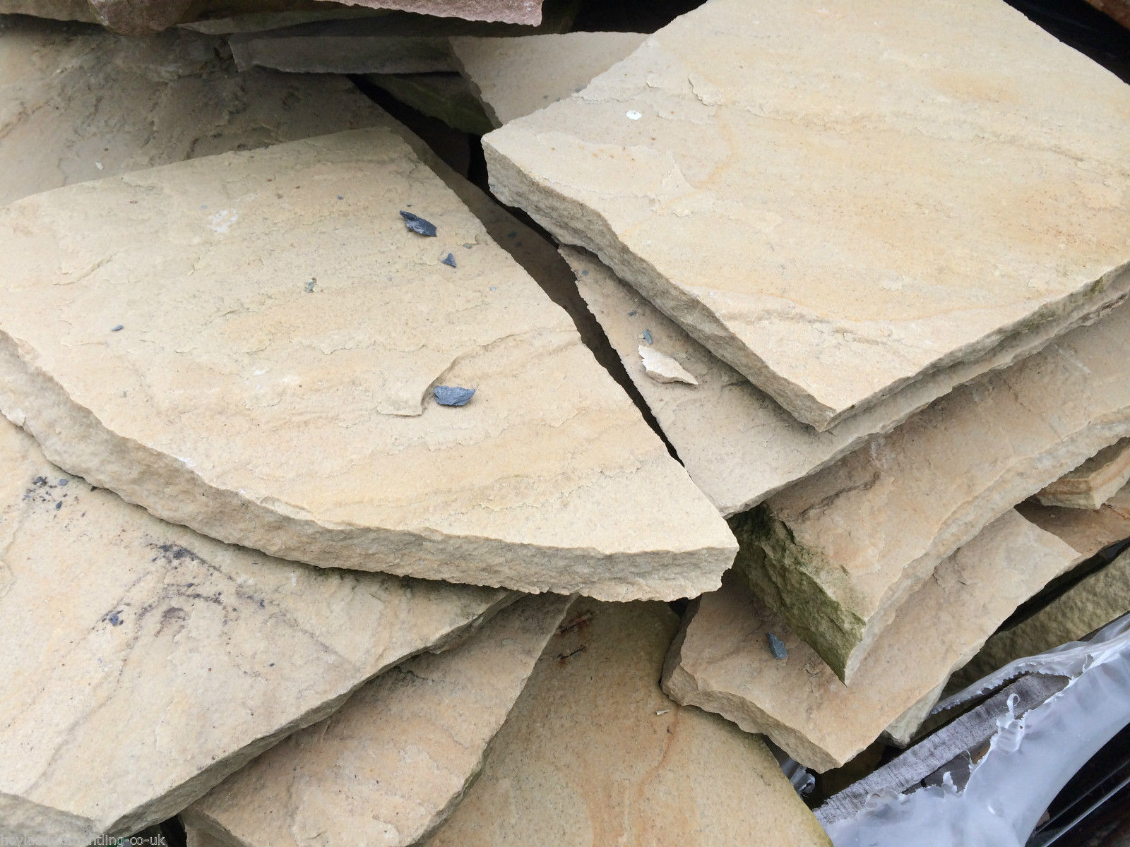Image for Natural sandstone crazy paving