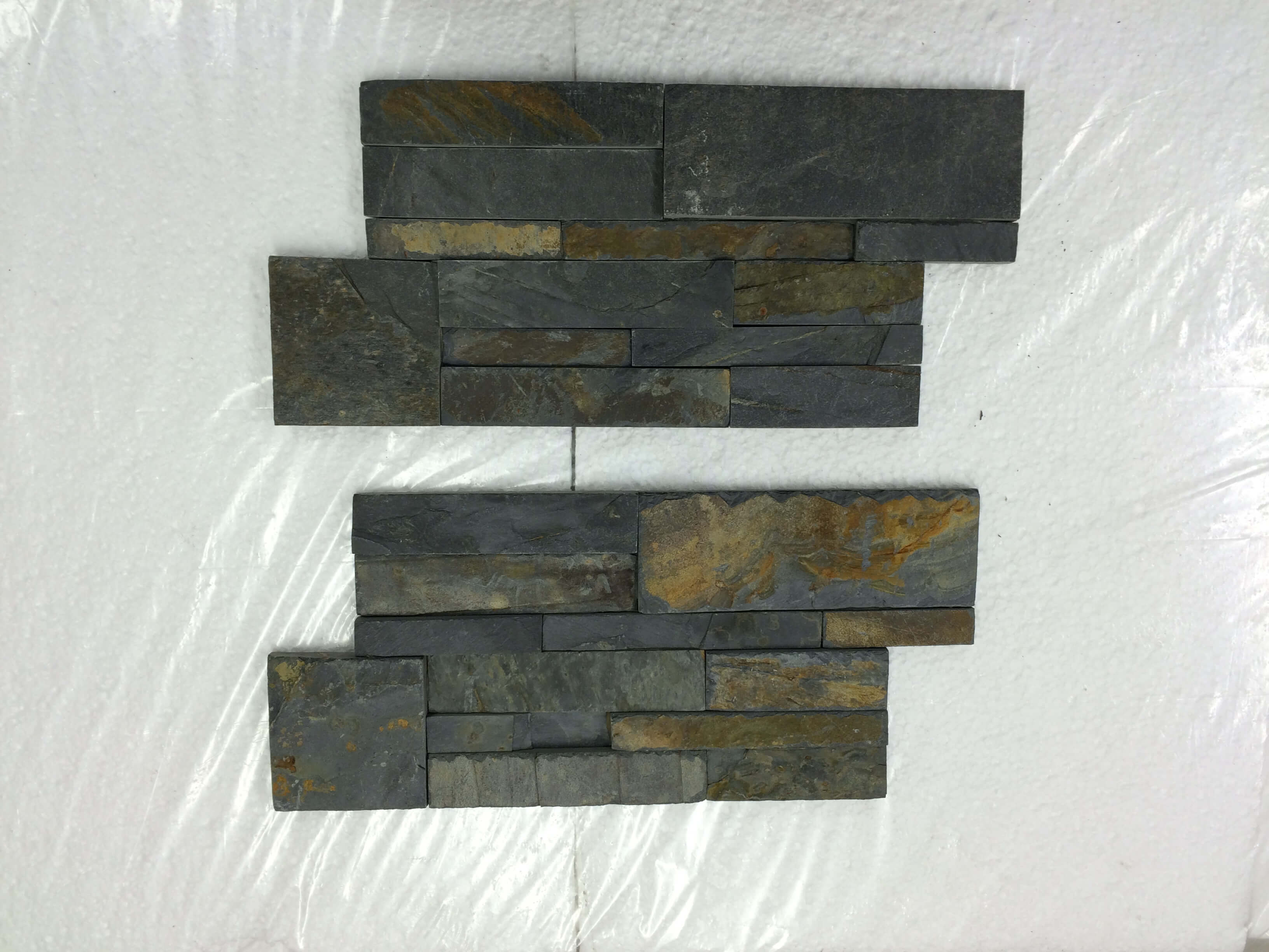 Third image for Rustic RANDOM STACK Z SHAPE CULTURE SLATE