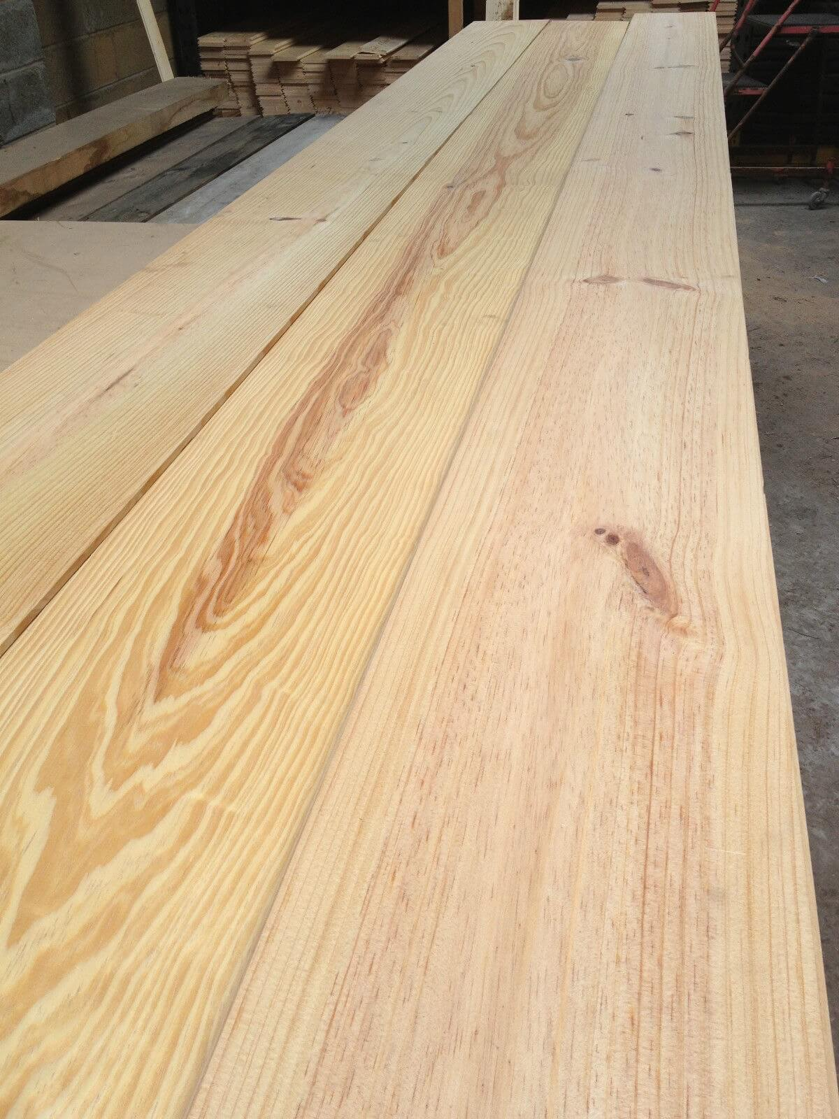 Image for New pitch pine flooring