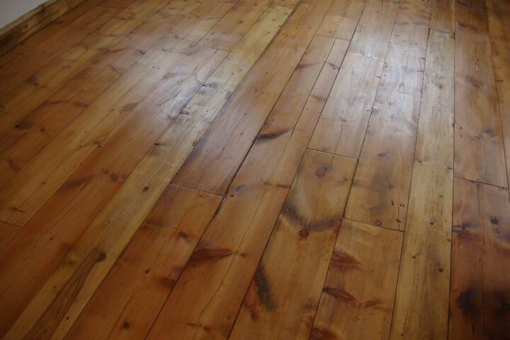 Image for Reclaimed pitch pine flooring