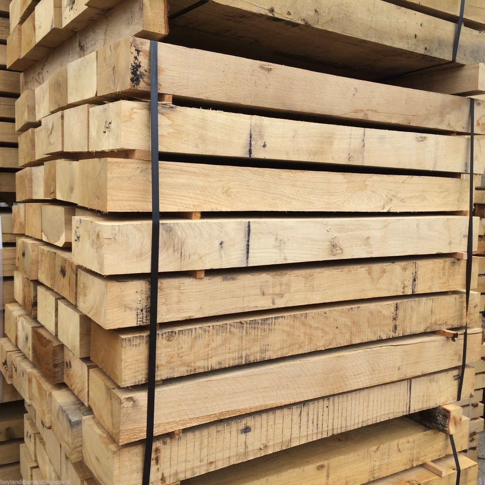 Image for New French Oak sleepers (1.2m)
