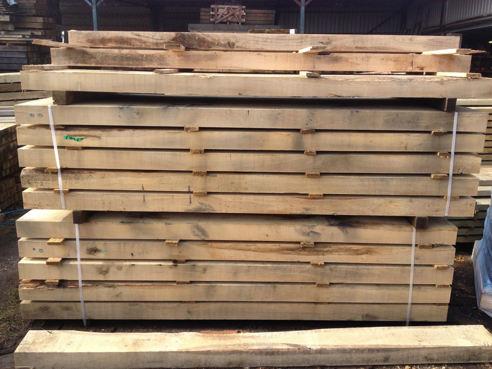 Second image for New French Oak sleepers (2.4m)