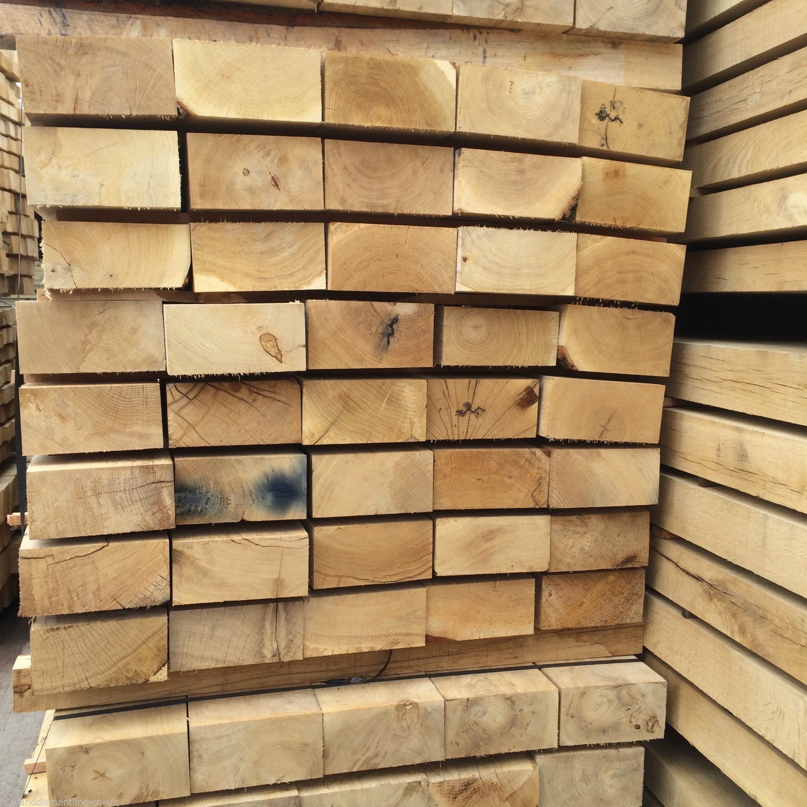 Third image for New French Oak sleepers (1.2m)
