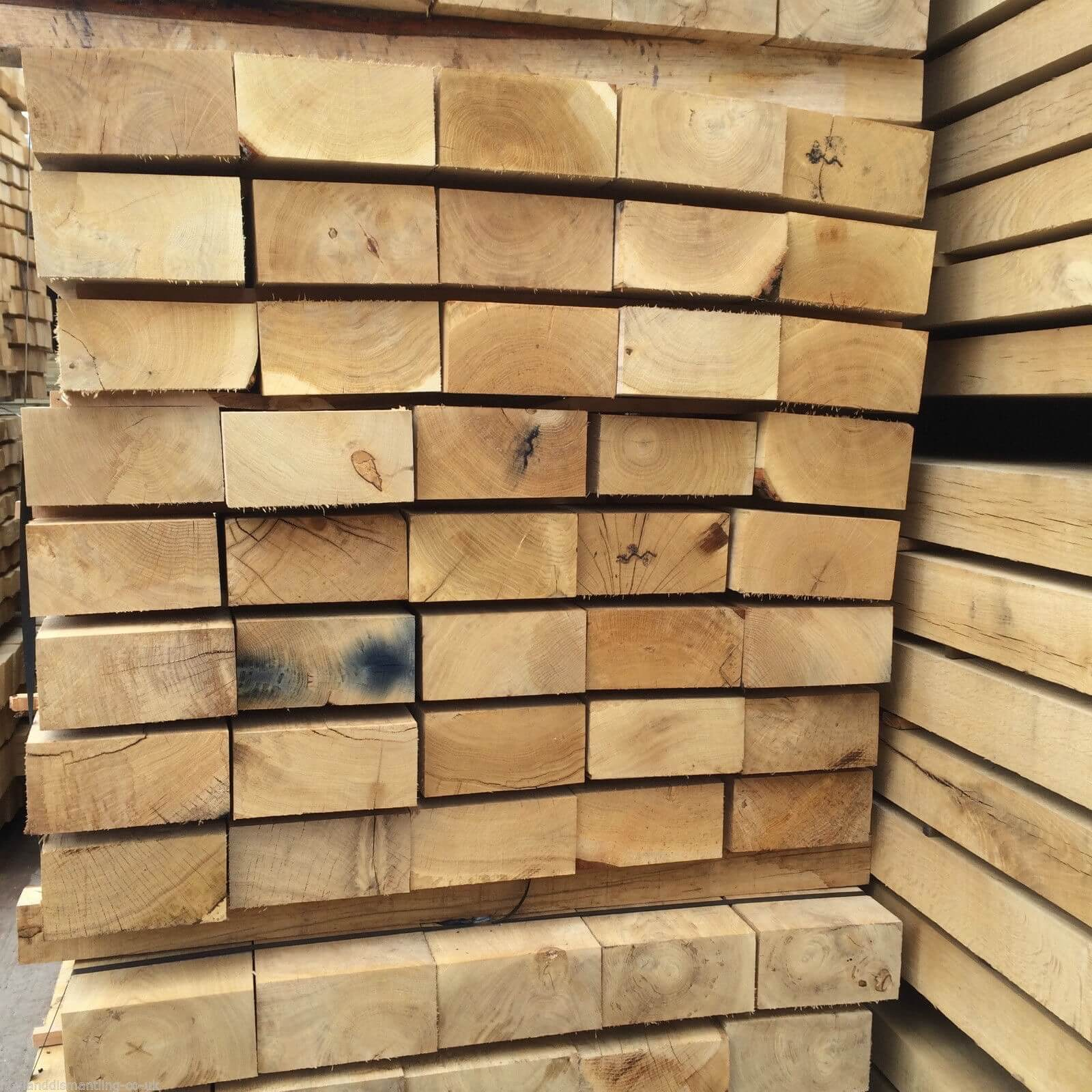 Third image for New French Oak sleepers (2.4m)