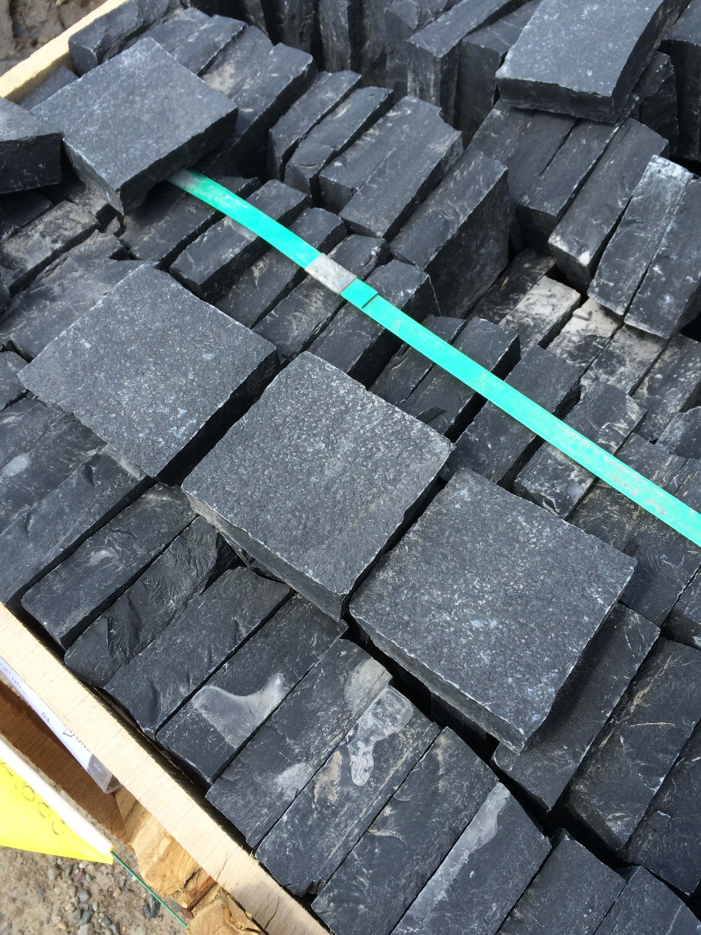 Image for Black Limestone Cobble Setts
