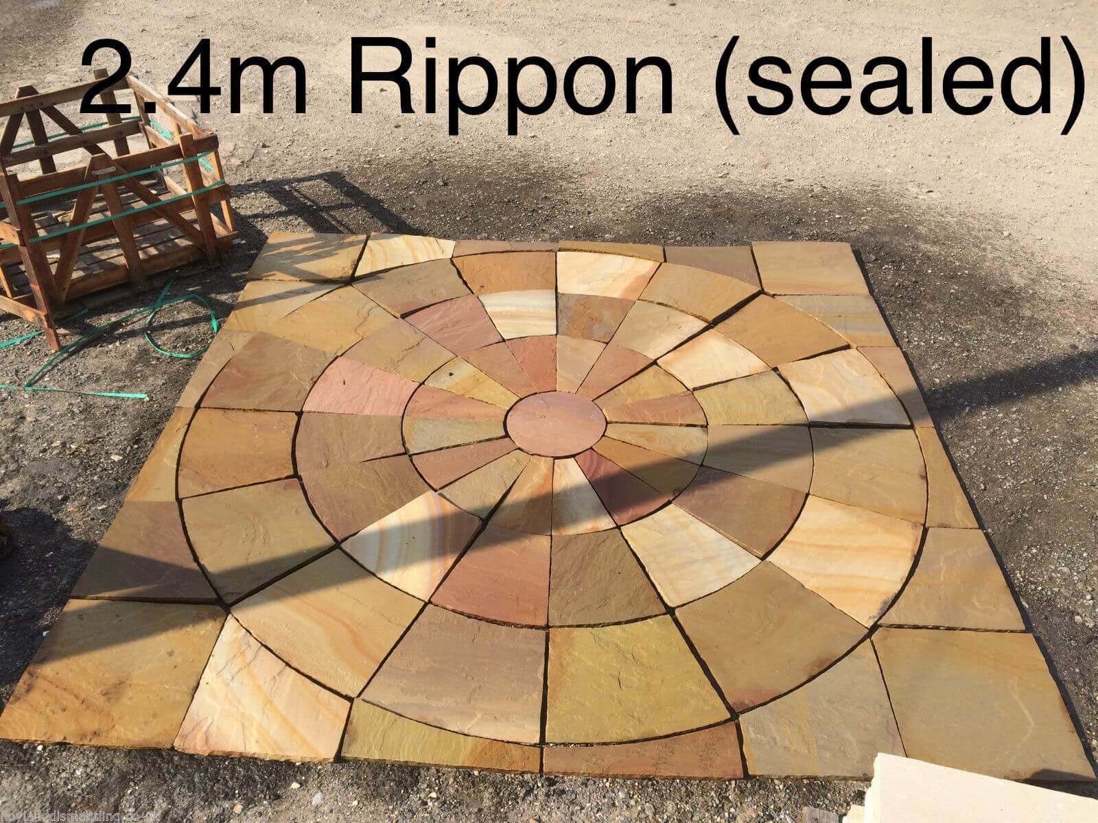 first image for Rippon Buff Paving Circle