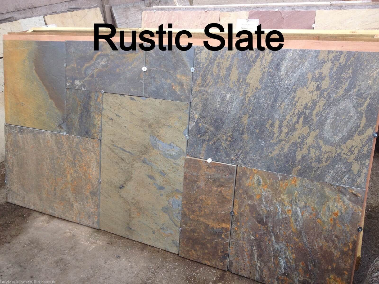 Third image for Rustic-Multi random Slate Paving