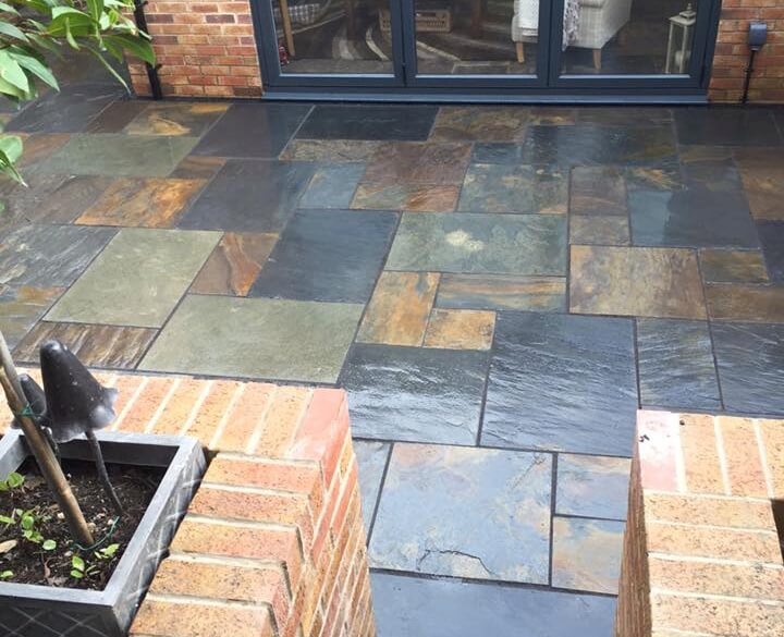 Image for Rustic-Multi random Slate Paving